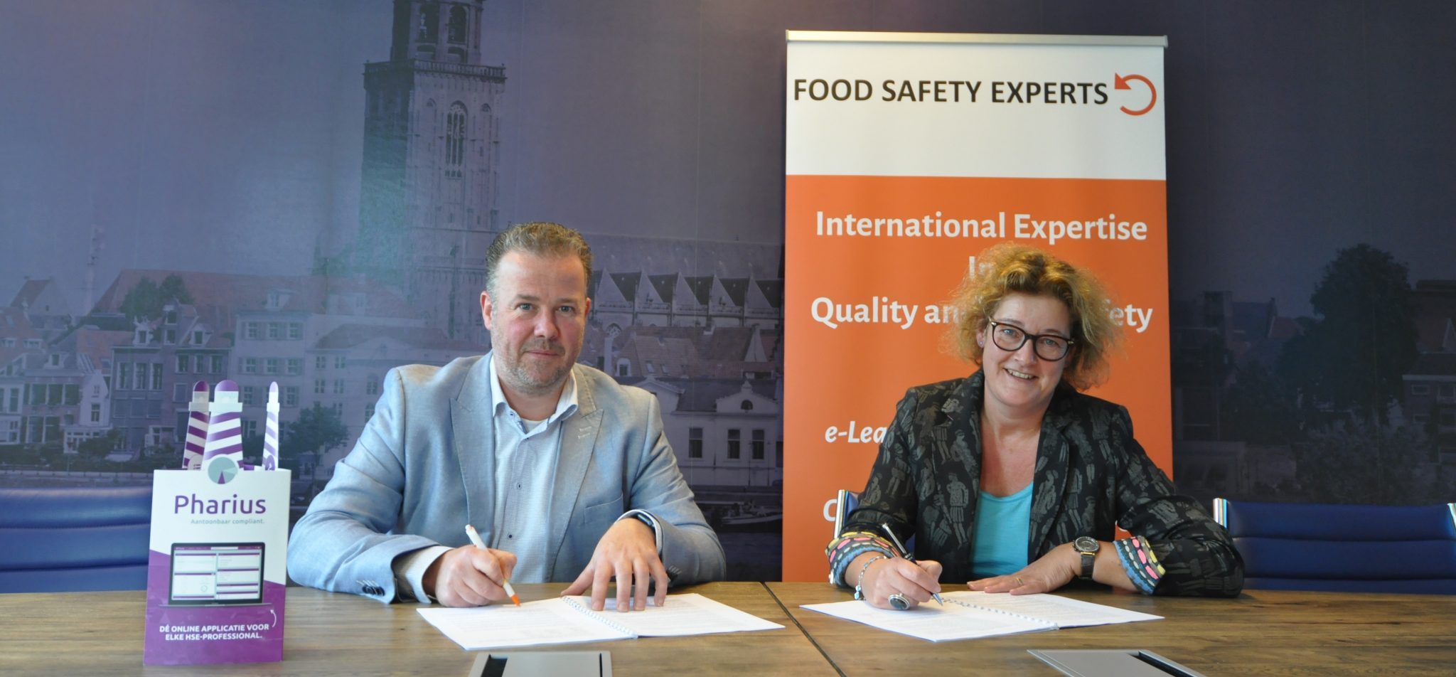 Food Safety Experts tekent voor premium partnership Pharius bij RDMG